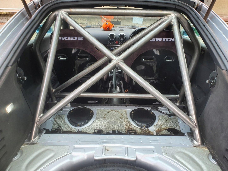 Rollbar Audi TT 8N - GRUBYGARAGE - Sklep Tuningowy